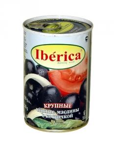 купить   Маслины отборные с косточкой - Iberica, 420г