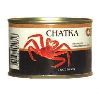 купить Мясо краба в собственном соку Chatka 240г
