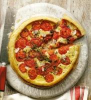 Пирог с помидорами и сыром пармеджано