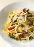 Спагетти с кабачками и лимоном