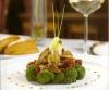 Салат из брокколи, вяленых помидоров и белых грибов