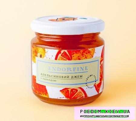 Апельсиновое варенье с лавандой фото